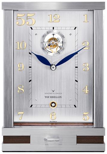 Фото  часов Настольные   часы Константин Чайкин Tourbillon 55 T755SS700300
